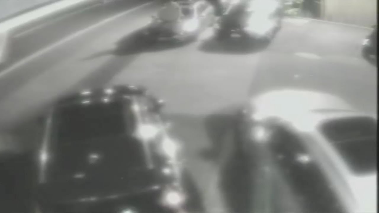 VIDEO: Police search for naked man caught on cam trying to