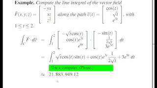 Concise Modular Calculus [89/97]: Line Integrals of Vector Fields (2/3 on Vector Fields)
