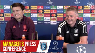 Pre-Match Press Conference   Istanbul Basaksehir v Manchester United   UEFA Champions League