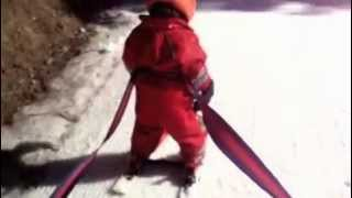 Lily's 3rd day on skis Thumbnail