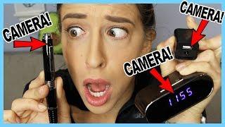 Testing Spy Cameras!!!!