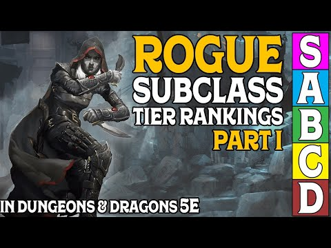 Rogue Subclass Tier Ranking (Part 1) in Dungeons and Dragons 5e