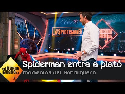 Thumbnail: La increíble entrada de Tom Holland como Spiderman a plató - El Hormiguero 3.0