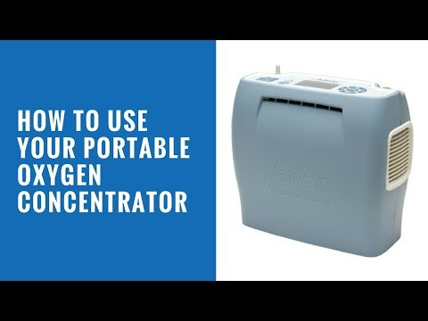 How To Use Your Portable Oxygen Concentrator