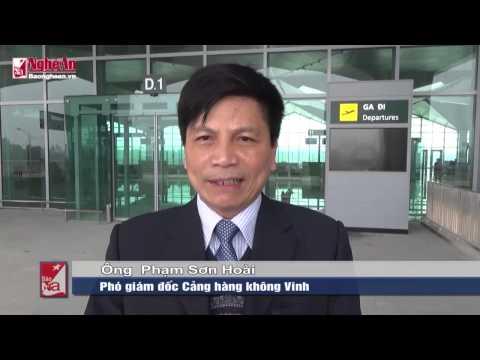 Sân bay Vinh - Báo Nghệ An Điện tử