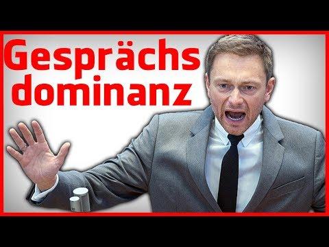 Wie Christian Lindner Gegner rhetorisch zerlegt - Gesprächsdominanz