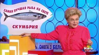 Жить здорово! Полезная морская рыба— скумбрия. (06.03.2017)