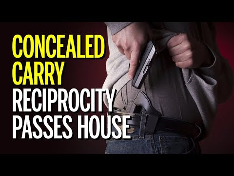 National Concealed Carry Reciprocity Bill Passes The House (REACTION)