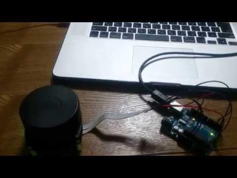 LIDAR system test - 01