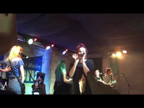 Cimorelli live in Milano - Fall Back (11/27/2016)