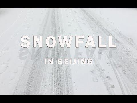 Beauty of Snowfall   Winter in Beijing