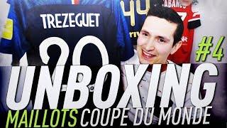 Maillots Unboxing & avis ! spécial Coupe du Monde 2018