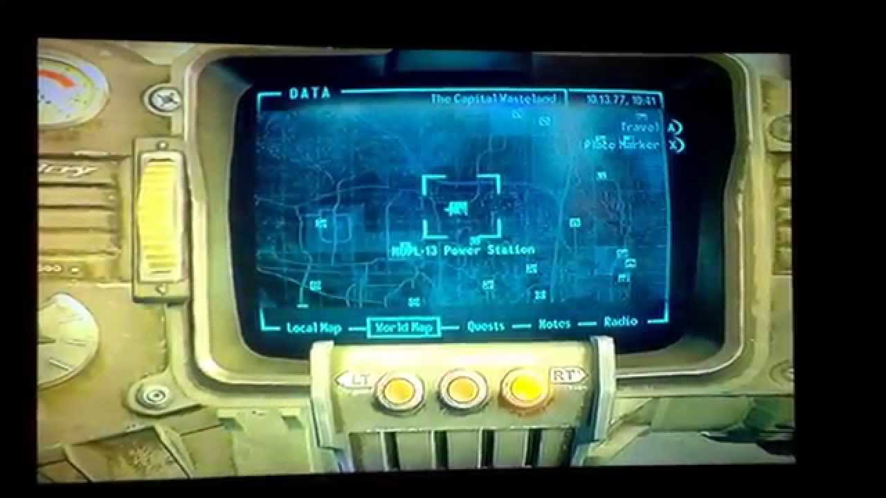 Fallout 3 get the Railway Rifle Schematics - YouTube
