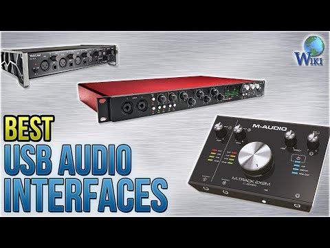 9 Best USB Audio Interfaces 2018