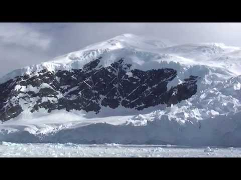 Incredible Antarctica glacier affected by Climate Change