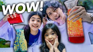 WE Tested Viral SCIENCE EXPERIMENTS! (Amazing!) | Ranz and niana