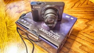 Canon SX620 HS Unboxing