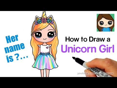 how-to-draw-a-unicorn-cute-girl-easy