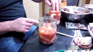 Рыбная Тушенка , Консервы из сома , леща , карпа , линя , щуки , амура :) в духовке , Легко.