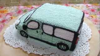торт мікроавтобус Опель