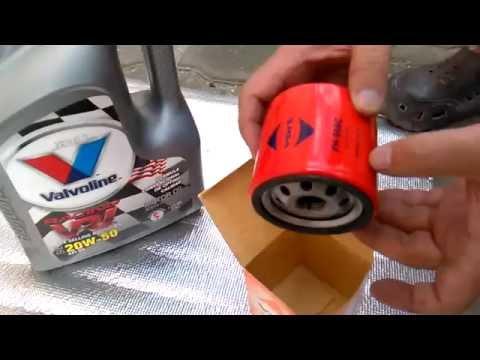Cambiar aceite y filtro del motor