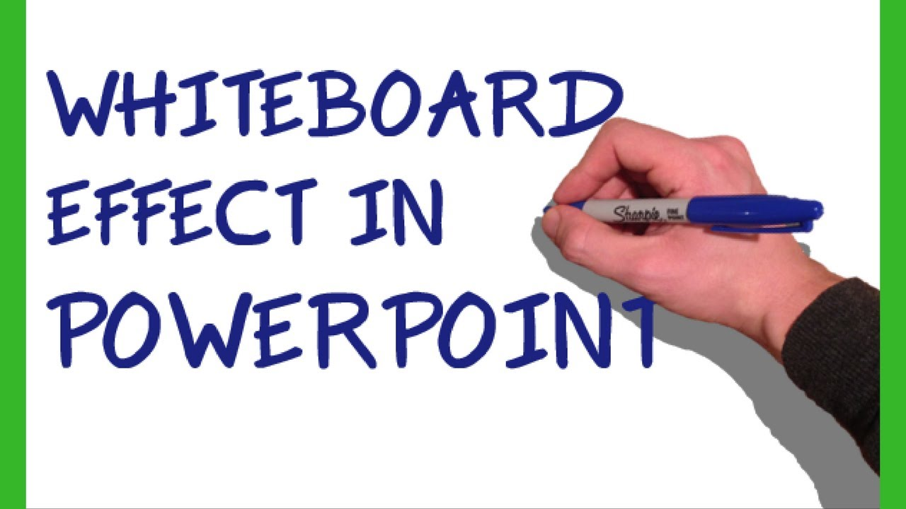 powerpoint whiteboard animation tutorial youtube