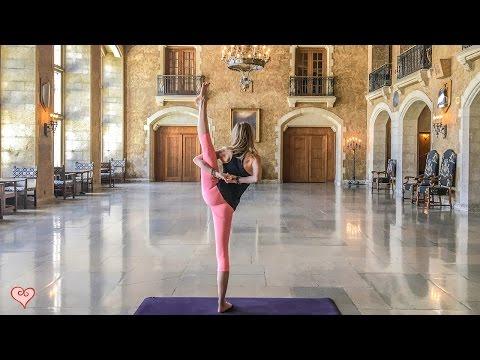 How To Do The Bird Of Paradise ♥ Yoga Pose Tutorial