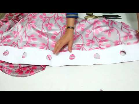 An Easy Way To Make Curtains At Home