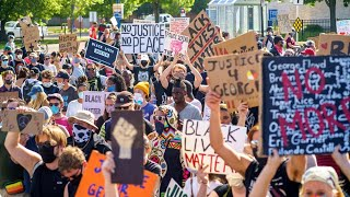 Live: Demonstrators Gather for George Floyd Protests Across the Country   NBC News