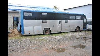 Брошенный автодом из автобуса ГолАЗ