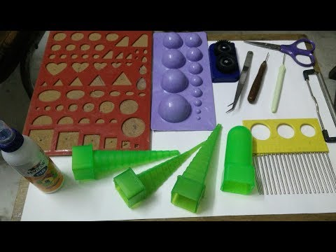How To Use Basic Paper Quilling Tools