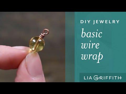 DIY Jewelry - Simple Wire Wrap