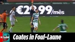 Coates verursacht 3(!) Elfmeter | Sporting Lissabon - Rio Ave 2:3 | Highlights | NOS