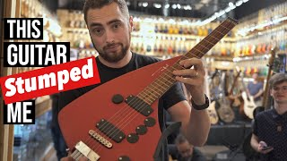 Playing The MOST UNIQUE Guitars I've Ever Seen