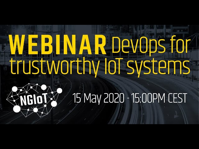 DevOps for trustworthy IoT systems
