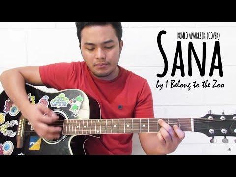 Sana - I Belong to the Zoo | Romeo Alvarez Jr (Cover + Chords)