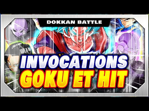 INVOCATIONS GOKU BLUE KAIOKEN ET HIT ! DRAGON BALL Z DOKKAN BATTLE FR