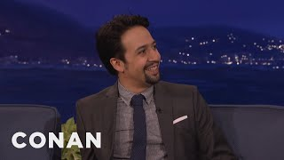 "Lin-Manuel Miranda Channeled Ja Rule In ""Hamilton""  - CONAN on TBS"