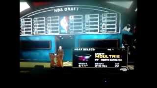 Copy of Wii nba 2k13 draft