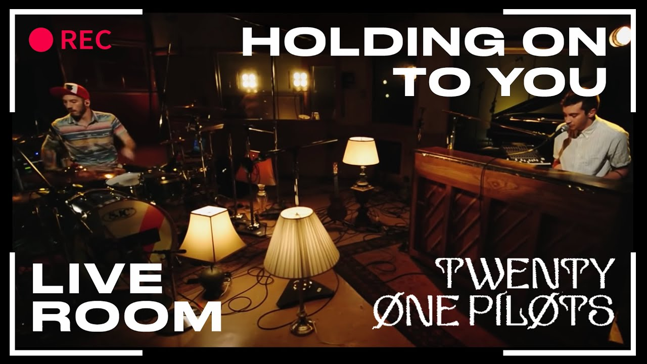 twenty one pilots live room twenty one pilots quot holding on to you quot captured in the 19401