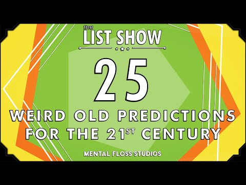 25 Weird Old Predictions For The 21st Century
