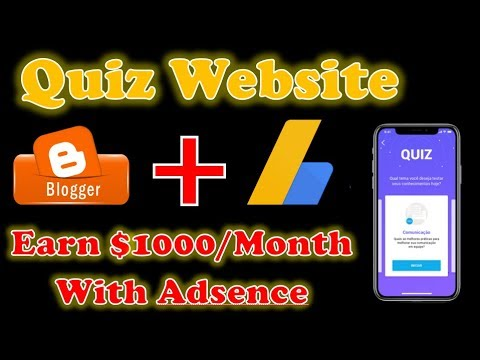 How To Create Quiz Website On Blogger With Adsence Approvel | Quiz Website Kaise Banaye