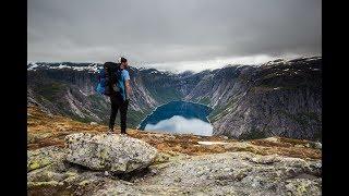 Midnight Hike to Trolltunga  I  EPIC Norway Travel Vlog