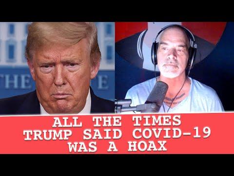 All the times Trump said Covid-19 was a HOAX
