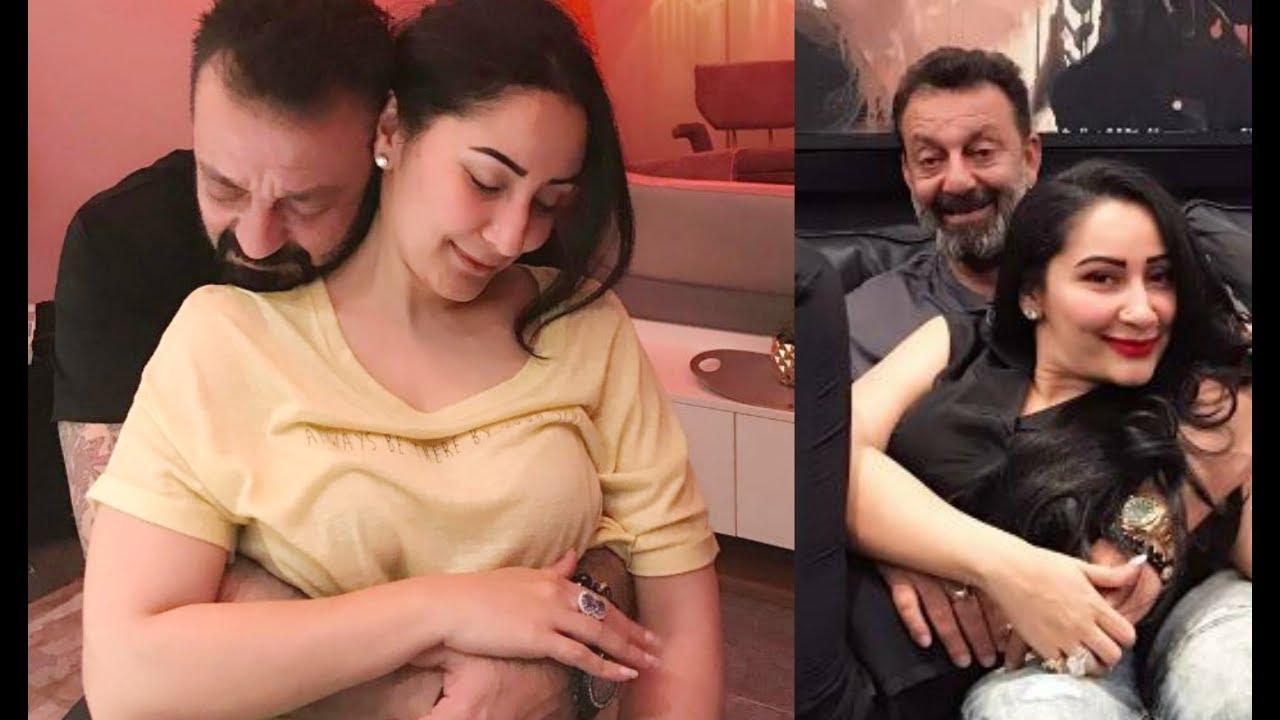Sanjay Dutt With Wife Manyata Dutt - YouTube
