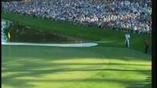 Tiger Woods, 16th Hole, Masters
