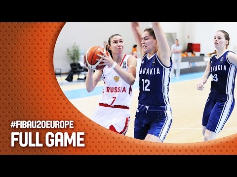 Russia v Slovak Republic - Full Game - FIBA U20 Women's European Championship 2016