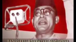 Download 1  Lagu Kebangsaan INDONESIA RAYA Instrumental Teks dan Gambar www stafaband co