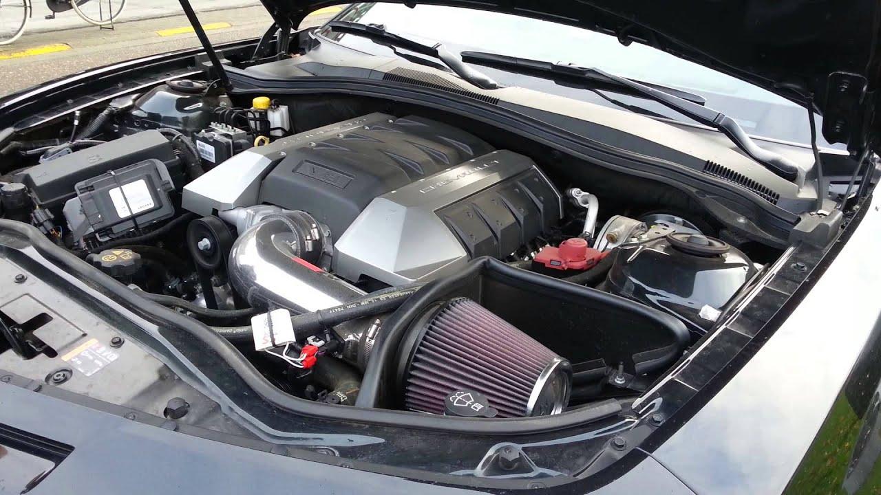 Camaro Ss 45th Anniversary Edition Engine Bay
