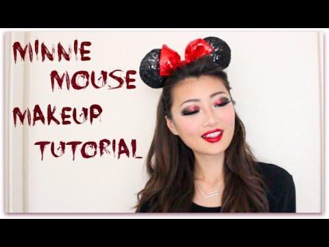 Halloween Series  Minnie Mouse Makeup Tutorial! - YouTube